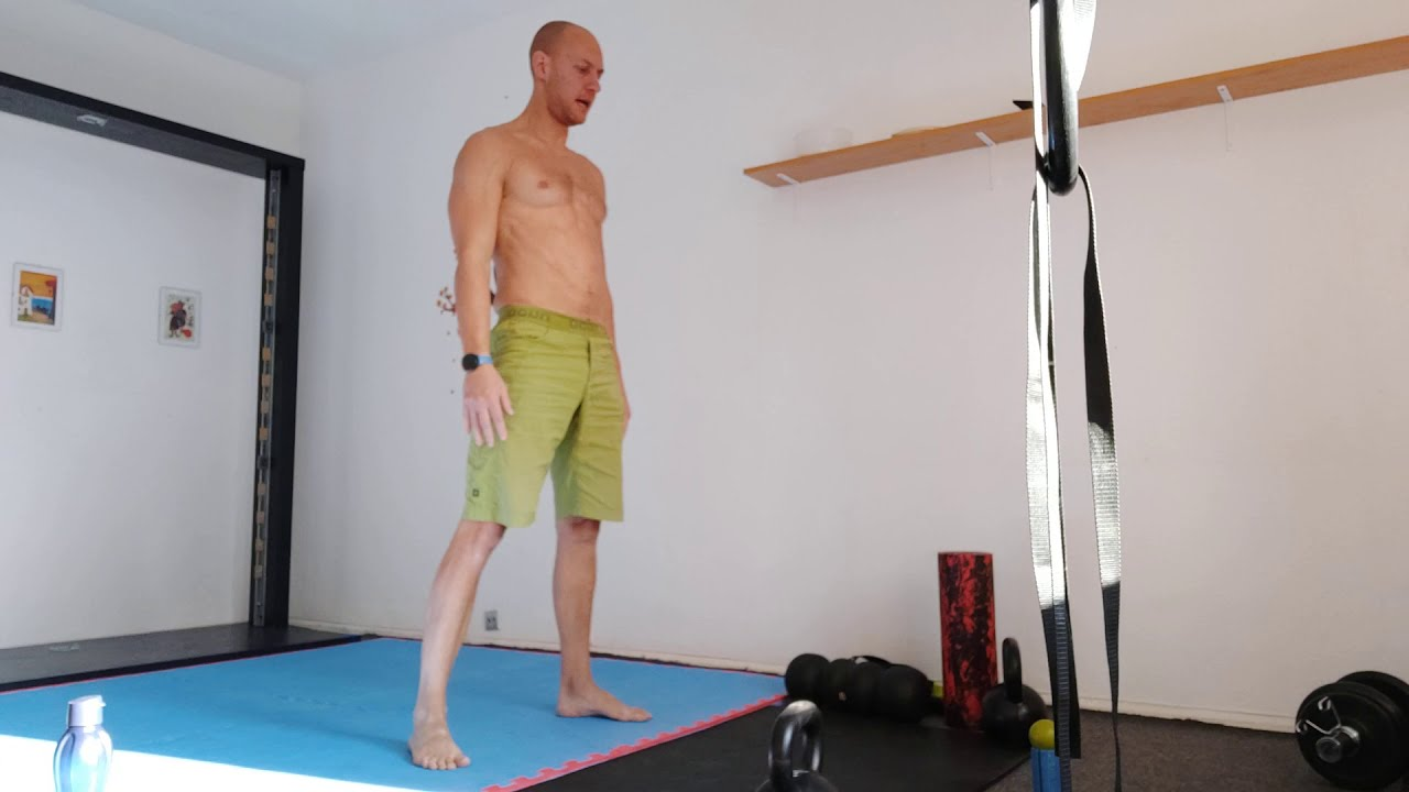 100 reps of 6 count Burpees without stop.