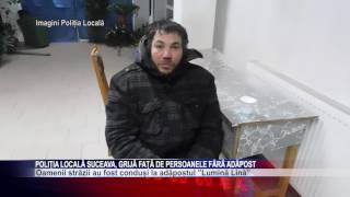 Politia Locala Suceava, grija fata de persoanele fara adapost