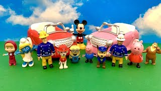 Close Surprise Eggs for Kids  Jajko Niespodzianka, huevo sorpresa, Peppa, Masha, Mickey Mouse