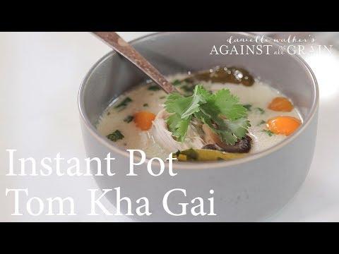 Instant Pot Thai Coconut Soup Recipe (Tom Kha Gai)  | Danielle Walker