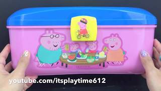 ONE HOUR LEARNING VIDEO FOR CHILDREN with Peppa Pig Dough Set | itsplaytime612