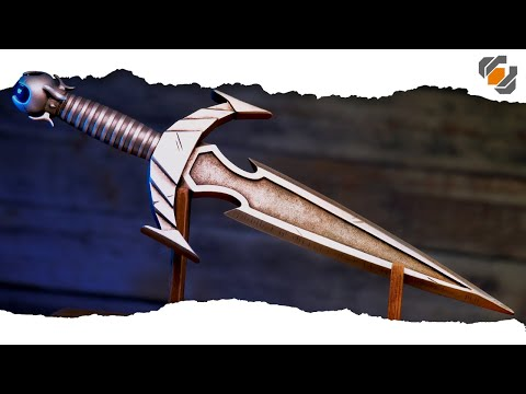 IT'S FINALLY FINISHED! Resin Mehrunes' Razor Dagger | SKYRIM