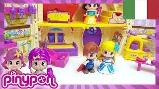 PINYPON ep. 2, giochi per bambine : i romantici sogni di Julia; Biancaneve e il Principe Azzurro!
