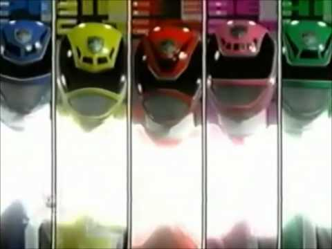 Power Rangers SPD (B-Squad vs A-Squad, laser blaster battle)