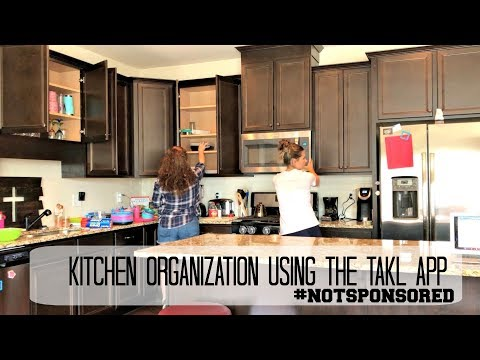 I Used the TAKL App for Kitchen Organization | Before and After | The Sensible Mama
