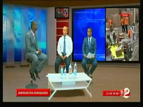 Télé Djibouti Chaine Youtube : Barnaamijka Hanaqaadka Horumarka 15/09/2017
