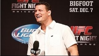 UFC Brisbane: Bisping Q and A