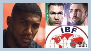 FLY IN THE OINTMENT FOR ANTHONY JOSHUA: KUBRAT PULEV OR HUGHIE FURY