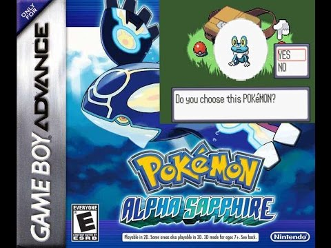 Pokemon - Sapphire Version (V1.1) ROM - Download FREE ROMs ...