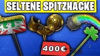 Die SELTENSTEN Spitzhacken | Fortnite Season 7 Deutsch