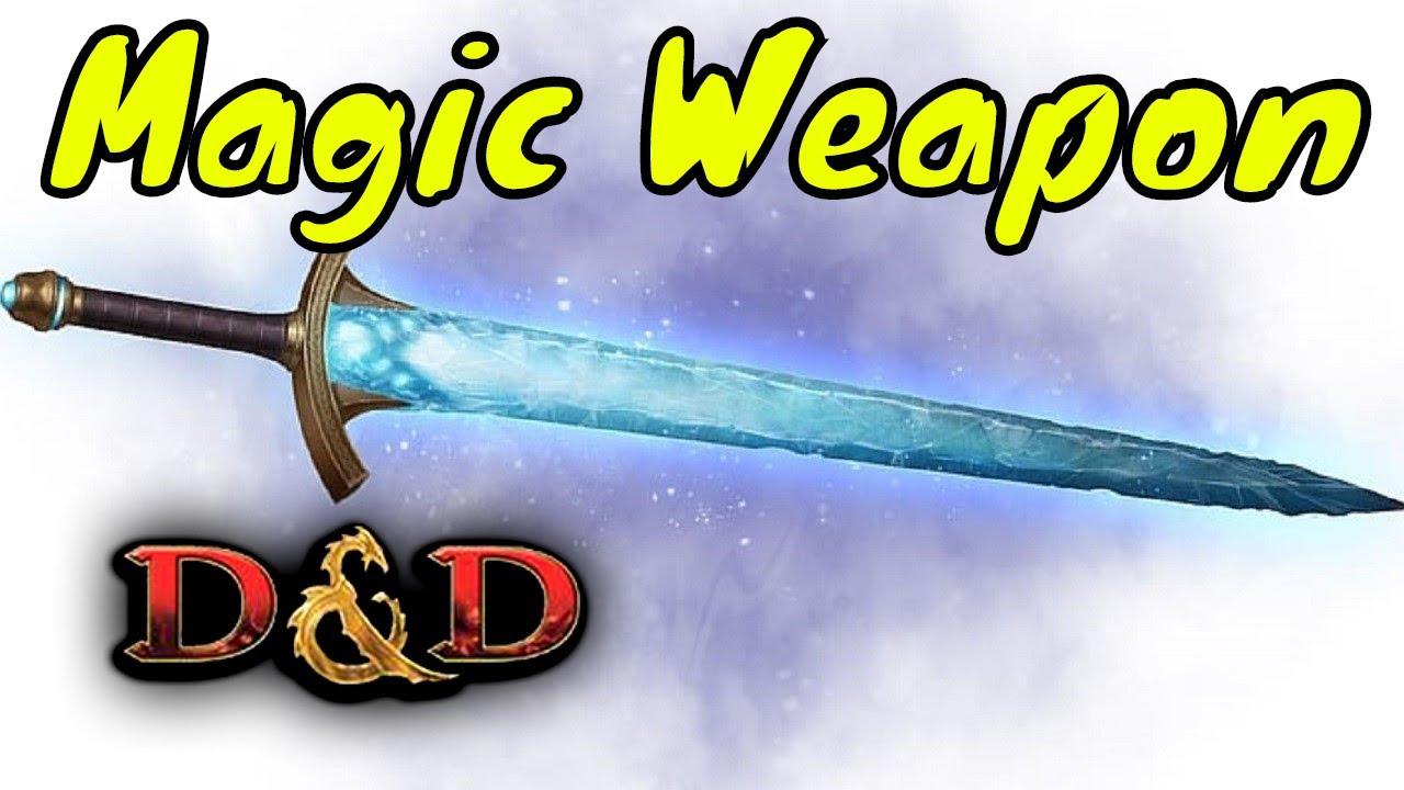 D&D Spell (5e): Magic Weapon