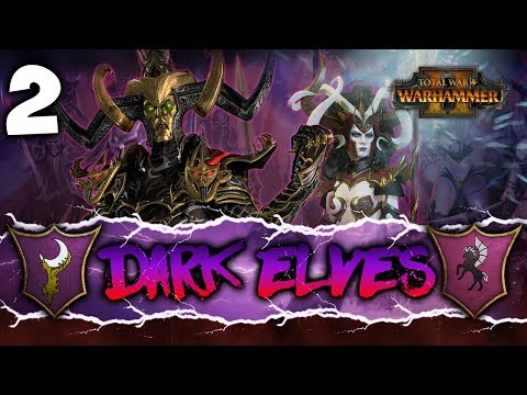 THE QUEST FOR THE SCROLLS! Total War: Warhammer 2 - Dark Elves Coop Campaign w/ Pixelated Apollo #2