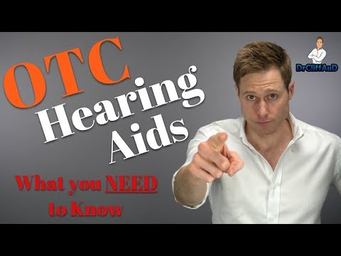 What You NEED to Know About Over-The-Counter Hearing Aids | FDA OTC Hearing Aid Act 2017