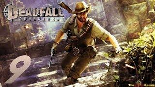Прохождение Deadfall Adventures [HD] - Часть 9 (Гроты! Водопады! Сокровища!)