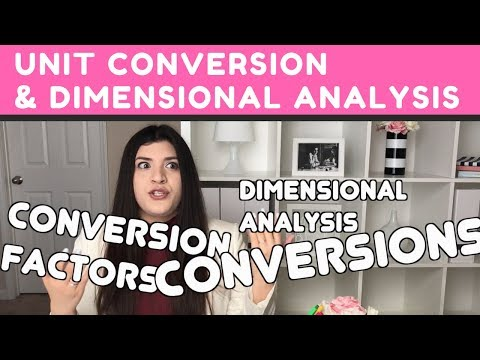 Unit Conversion & Dimensional Analysis | How to Pass Chemistry