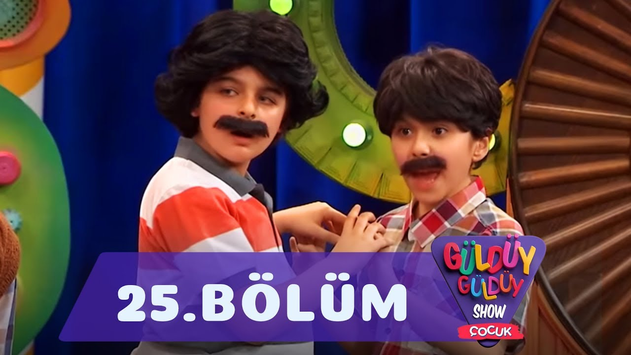 Güldüy Güldüy Show Çocuk 25.Bölüm (Tek Parça Full HD)