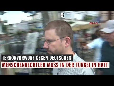 Terrorvorwurf: Deutscher Menschenrechtler muss in der Türkei in Haft