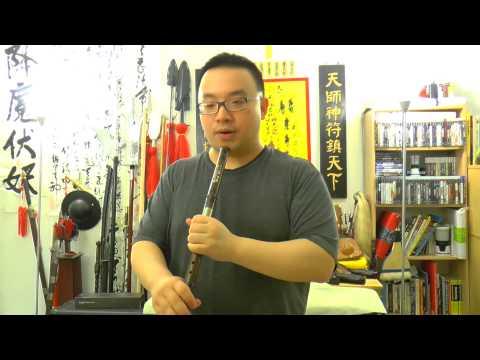 Qin Xiao (Bamboo Flute) F Key Music Performance