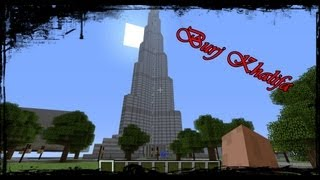 Minecraft: ***BEST BURJ KHALIFA EVER***
