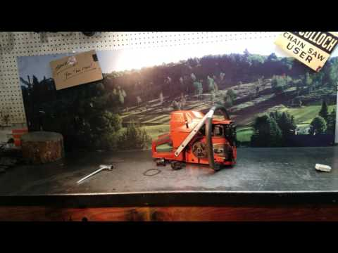 The Chainsaw Guy Shop Talk New Jersey build Husqvarna 395 XP Chainsaw