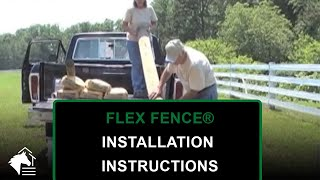 New High Impact Flex-fence Instructions