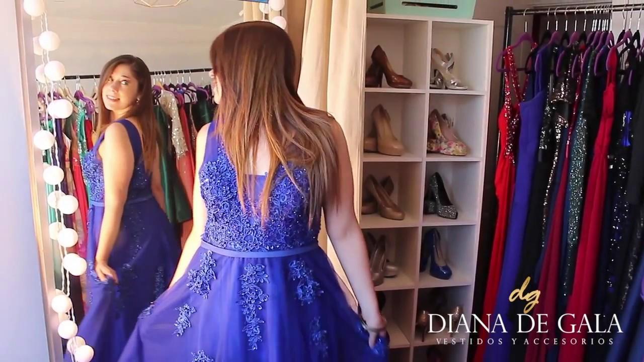 Arriendo de vestidos de fiesta diana de gala