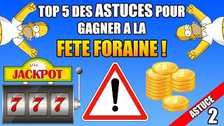 Top 5 Des Astuces pour GAGNER à la FETE FORAINE ! #2