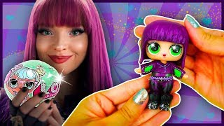 MAL DESCENDANTS 2 🔥 LOL Surprise Custom Doll DIY | Toy Tutorial & LOL Dolls Uboxing