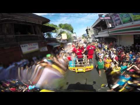 Batangas Drumbeaters at GINEBRA Parada ng Lechon sa Balayan