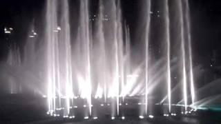 Burj Dubai Fountain  - Shik Shak Shok