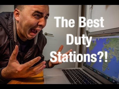 The BEST duty stations?!