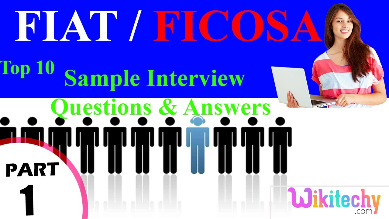fiat ficosa top most interview questions and answers for fiat ficosa top most interview questions and answers for freshers experienced tips online videos