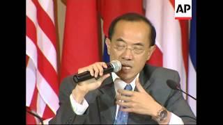 Singaporean FM statements, Myanmar FM leaving