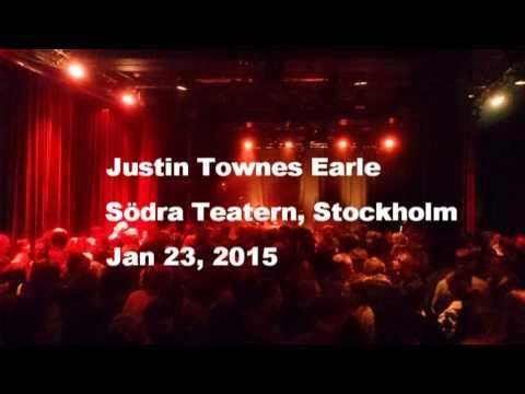 Justin Townes Earle @ Södra Teatern Stockholm 2015