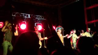 The Village People performing Can't Stop The Music at the 2013 Owl-...