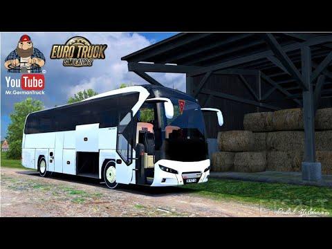 [ETS2 v1.37] Neoplan New Tourliner Euro6 *FMod & Open Window / Door ready*