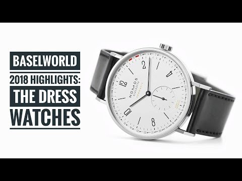 Baselworld 2018 Highlights: The Dress Watches