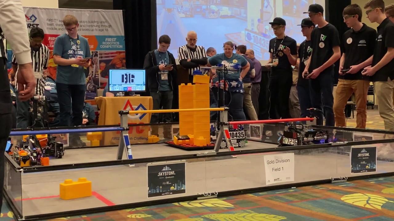 FTC Skystone Circuit Breakers 166 World Record - FTC Iowa, State Championship