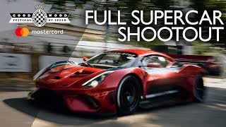 FOS 2018 full Supercar shootout