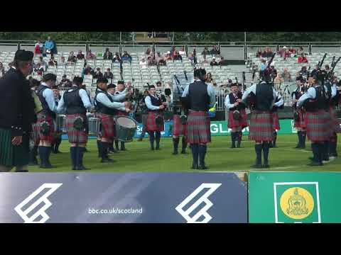 World Pipe Band Championships 2017 - Grade 2 Finals: Manorcunningham