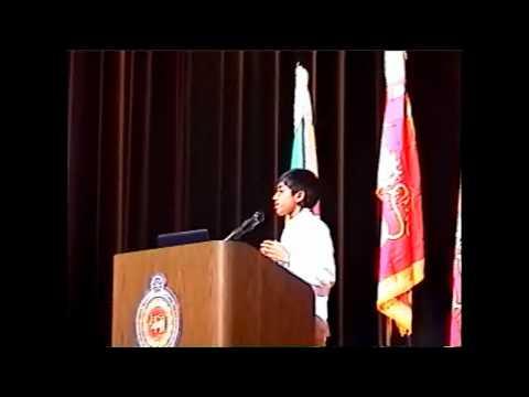 Kalpa Semasinghe's Speech on Sri Lankan Independence Day in Washington D.C.