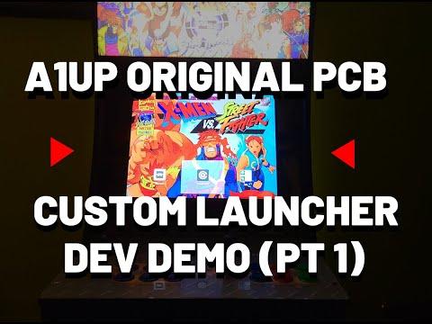 Arcade1Up: Original PCB Launcher Development Part 1 + Running it on an Emulator! from The Code Always Wins