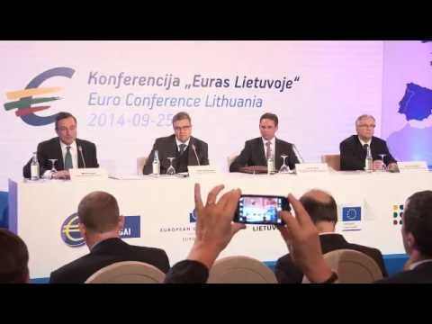 Euro Conference Lithuania - Press Conference - 25 September 2014