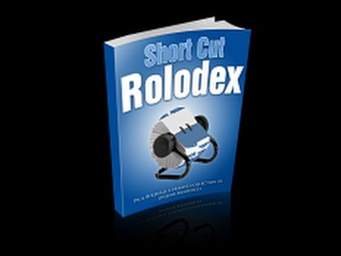 Paul Birdsall's Short Cut Rolodex Real Value