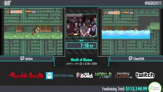 Awesome Games Done Quick 2015 - Part 13 - World of Illusion by Edenal and darbian