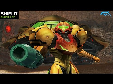 Dolphin Gamecube Emulator For Android - Metroid Prime 2 1080p Ingame (Shield Android TV)