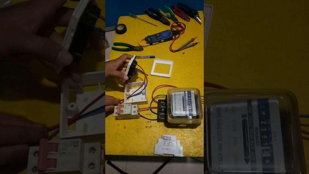 hight resolution of how to connect single phase watt hour meter