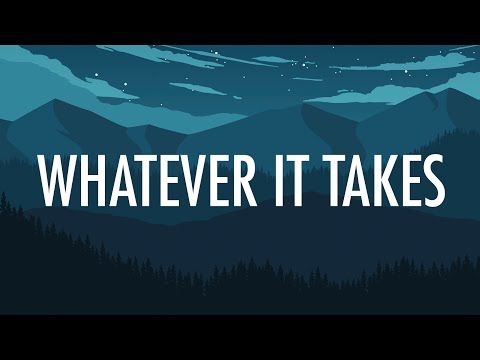 Imagine Dragons – Whatever It Takes (Lyrics) 🎵