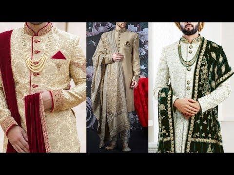 Indian groom dress || wedding sherwani for groom || Indo western sherwani