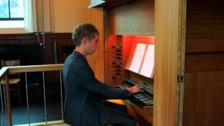 J.S. Bach Pastorale in F majeur (BWV 590) - Gert van Hoef
